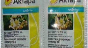 Инсектицид Актара фото